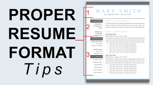 examples of resumes how to properly email a proper resume format 89 glamorous formatting a resume examples of resumes