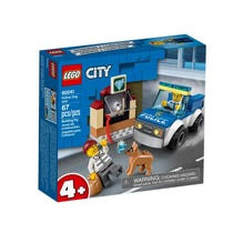 <b>Конструктор Lego City</b> 60241 <b>Полицейский</b> отряд с собакой ...