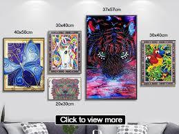 <b>AZQSD</b> Diamond Painting Cat Needlework <b>Diamond Embroidery</b> ...