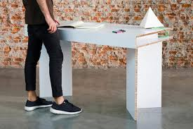 to our discerning eyes though the furniture of madrid based design collective cardboard looks a cut above theres the axioma a 90 cardboard table cardboard office furniture