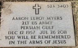 <b>Aaron Leroy Myers</b> (1957-2011) - Find A Grave Memorial