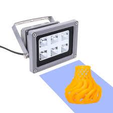 <b>UV</b> Resin Curing Light <b>405nm</b> Solidify Photosensitive LED Lamp ...