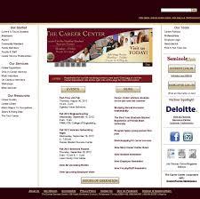 websites natalie kates the fsu career center homepage rotating banner