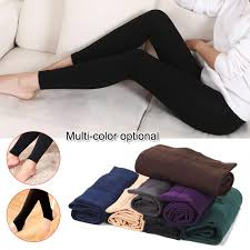 <b>2019 Newly Hot Women</b> Heat Fleece Winter Stretchy Leggings ...