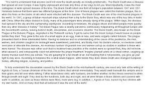 black death essay   market segmentation essaychinese students homework  essays