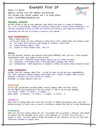 resume examples how to write my first resume picture resume resume examples my first resume stay at home mom resume cover letter example first