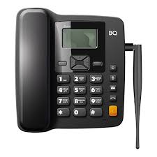 Стационарный GSM <b>телефон BQ 2410</b> Point Черный — купить в ...