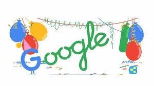 Resultado de imagen para Cumpleaños de Google