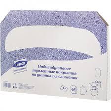 <b>Luscan Professional</b> Одноразовые покрытия на унитаз 250 шт ...