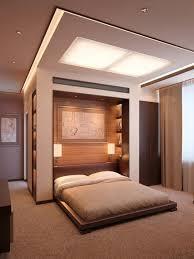 recessed lighting design bedroom using warm white fluorescent light bulbs above king size mattress on platform bedroom recessed lighting design ideas light