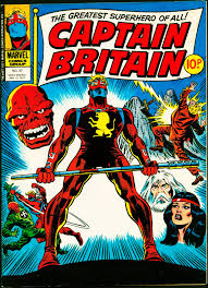 Image result for Captain Britain