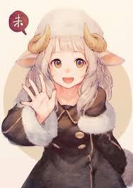 sheep <b>girl</b> - Google Search   <b>Anime</b>, Nekomimi, <b>Kawaii anime</b>