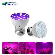 <b>E27 LED Grow</b> Light Lamp SMD5730 Full Spectrum LED Phyto ...