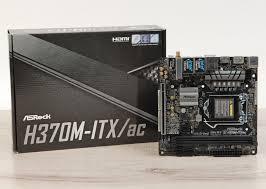 Обзор <b>материнской платы ASRock H370M</b>-ITX/ac: компактная ...