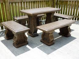 cement outside patio furniture photograph awesome cement patio cement patio tables cement furniture