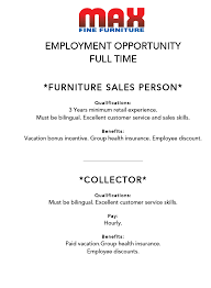 career opportunities max fine furniture websites retailcatalog us 1251 mm career