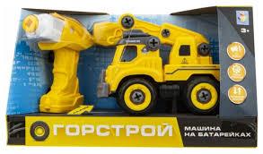 Винтовой <b>конструктор 1 TOY</b> Горстрой Т16958 Автокран ...