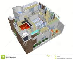 Architectural Plan Of House Stock Photo   Image  Architectural plan of house