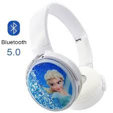 Cute <b>Frozen Bluetooth</b> 5.0 <b>Headphones Wireless</b> Girls Kids Cartoon ...