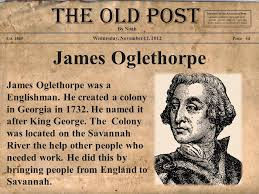 「James Edward Oglethorpe」の画像検索結果
