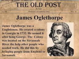 「James Edward Oglethorpe」の画像検索結果