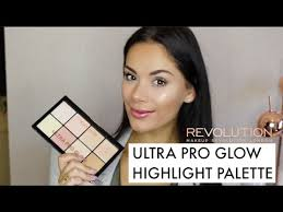 <b>MAKEUP REVOLUTION ULTRA</b> PRO GLOW - DEMO & SWATCHES ...