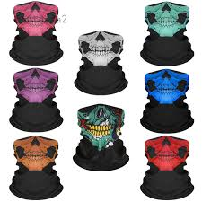 Festival <b>Skull Masks Skeleton</b> Magic <b>Bicycle Ski Skull</b> Half Face ...