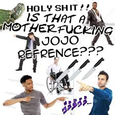 is this a jojo reference know your meme is this a jojo reference