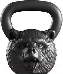 <b>Iron Head Медведь</b> (24кг) <b>Гиря</b> купить в Минске