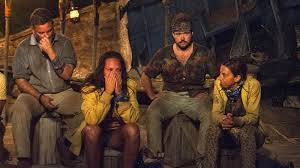 survivor contestant outed as transgender on tv you didn t just zeke smith second from right was outed as transgender on wednesday s episode of