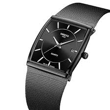 NIBOSI Men's Square Watches Business <b>Fashion</b> Top <b>Brand Luxury</b> ...