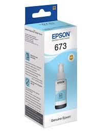 Чернила T6735 <b>Light Cyan</b> (C13T67354A) <b>Epson</b> 7140487 в ...