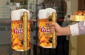 <b>Beer</b> Door Handle <b>Sticker Creative beer</b> mug <b>stickers</b> were installed ...