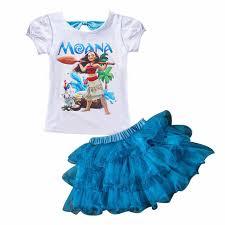 <b>2018</b> Summer MOANA Baby Girl <b>Dress</b> Casual Sets Children's ...