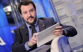 Matteo Salvini ospitate tv dicembre 2015
