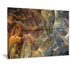 White And <b>Gold Abstract</b> Art | Wayfair