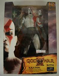 "<b>NECA God of</b> War II 12"" Kratos Medusa Head Player Select Ps2 ..."