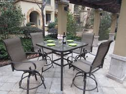 patio balcony height patio dining furniture
