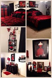 paris themed bedrooms red bedspread and paris on pinterest bedroombreathtaking stunning red black white