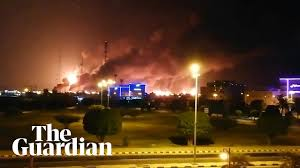 Saudi Arabia: major fire at world's largest oil refinery after drone attack