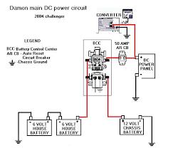 rv wire diagram rv electrical wiring diagram electrical com damon Rv Electrical System Wiring Diagram damon wiring diagram update added mod forums 50 Amp RV Wiring Diagram