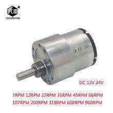 jgb37 545 deceleration motor smart car 12v24v miniature dc gear low speed motor
