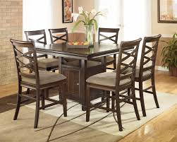 Dining Room Set Counter Height Ridgley Dining Room Set Ridgley Piece Square Counter Height Tone