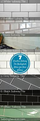 subway tiles tile site largest selection:  creative subway tile backsplash ideas for your kitchen sebring services