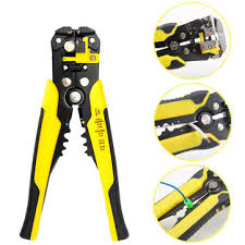 automatic <b>wire stripper crimper</b> plier hand stripping <b>crimping</b> tool ...