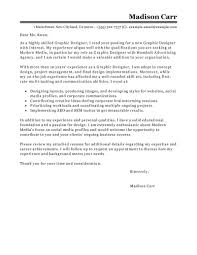 best graphic designer cover letter examples livecareer edit