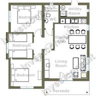 Bedroom House Floor Plans   Canada House PlansSmall Bedroom House Floor Plans