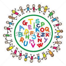 Resultado de imagem para alfabeto crianças desenho