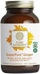 Pure Synergy Organic SuperPure Ginger Extract (60 ... - Amazon.com
