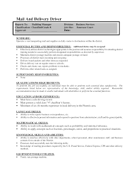 delivery driver resume sample anuvrat info office work resumehow to make driver resume sample customer